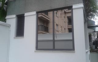 caixilhos blindados janela