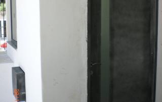 porta blindada com visor vertical