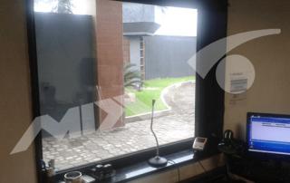vidro blindado central de segurança